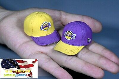 $17.99 • Buy 1/6 Scale Lakers Hat For 12  Figure Doll Phicen Hot Toys Enterbay Kobe ❶USA❶