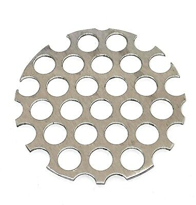 £3.50 • Buy Qty 2 PERFORATED DISCS Sheet Metal 10mm Ø Hole X 13mm Pitch