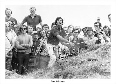 Seve Ballesteros Signed Print Photo Poster Wall Art Golf Open Masters Ryder Cup • 13.97£