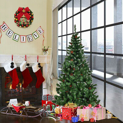 £32.99 • Buy 5ft Artificial Christmas Tree Snow Cones Large Realistic Xmas Trees Decoration