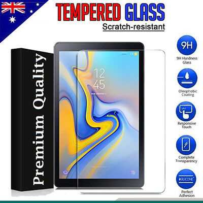 AU8.49 • Buy Tempered Glass Screen Protector For Samsung Galaxy Tab A S4 10.5  A 7  8.0 10.1