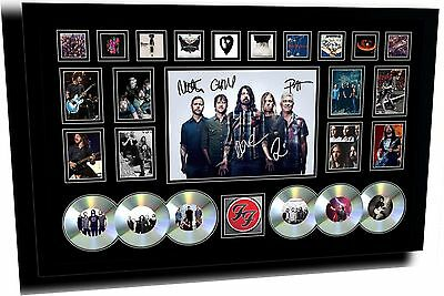 AU174.99 • Buy New Foo Fighters Signed Limited Edition Framed Memorabilia