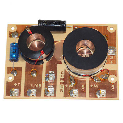 $ CDN20.64 • Buy  RAMM 33-016 3 Way Passive Crossover 46-R3X-150-48 4 Or 8 Ohm Woofer 150W