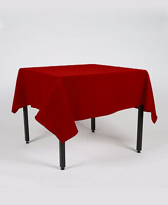 Rectangle Fabric TABLE CLOTH / COVER Over Locked Using Top Quality Cotton Thread • 18.50£