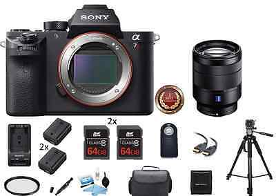 $ CDN3391.53 • Buy Sony Alpha A7R II Mirrorless Digital Camera W/ 24-70mm F/4 Pro Bundle Package