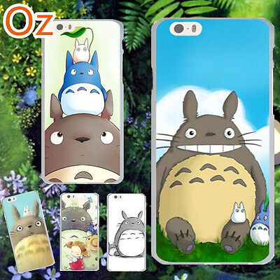 Totoro Cover For IPhone 7, Quality Painted Case WeirdLand • 5.97£