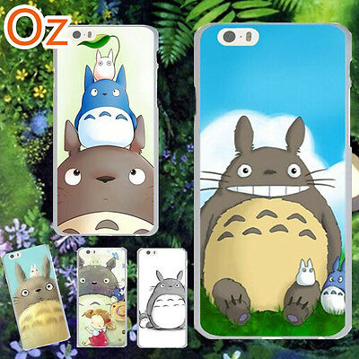 Totoro Cover For IPhone 7 Plus, Quality Painted Case WeirdLand • 5.97£