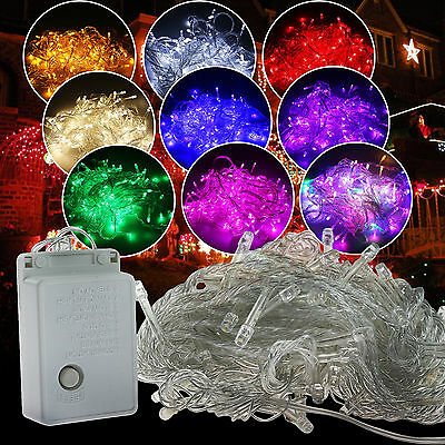 $14.88 • Buy 30M 300 LED Christmas String Fairy Light Wedding Xmas Party Decor Outdoor Indoor