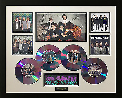 AU89.99 • Buy New One Direction Cds 2015 Signed Limited Edition Framed Memorabilia