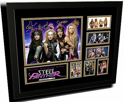 AU85 • Buy Steel Panther Signed Limited Edition Framed Memorabilia