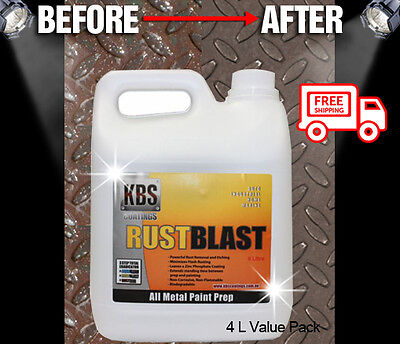 AU64.50 • Buy KBS Rust Blast 4 Liters Rust Remover Removal RustBlast Corrosion Prevention