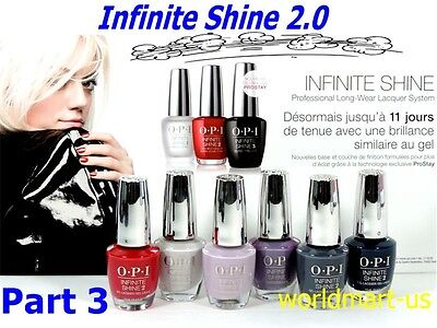 £6.36 • Buy OPI Infinite Shine Polish Nail Lacquer Color Base Top Last Up To 10 Days/ Part 3