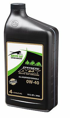 $ CDN25.31 • Buy Arctic Cat ACX 0W-40 Full Synthetic Oil Wet-Clutch Certified, All Weather Quart