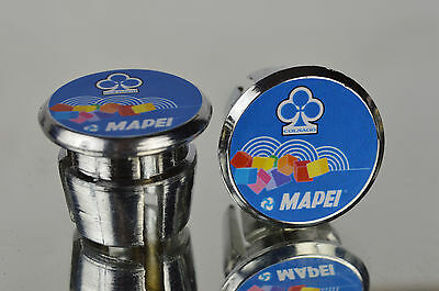 $15 • Buy New Colnago Team Mapei Handlebar End Plugs Bar Caps Endstopfen Lenkerstopfen
