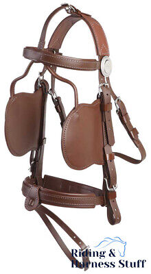 £133.99 • Buy Zilco Driving Harness - Complete Brun Bridle - Cob, Full