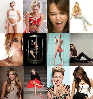 Miley Cyrus - Hot Sexy Photo Print - Buy 1, Get 2 FREE - Choice Of 75 • 1.99£
