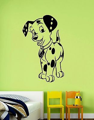 Dalmatian Wall Decal Disney Vinyl Sticker Cartoon Art Bedroom Nursery Decor Dlm7 • 21.19£