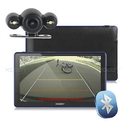 AU95.99 • Buy XGODY 7'' 8GB GPS Navigator Bluetooth Navigation With Bluetooth Rear View Camera