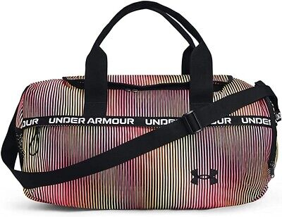 $53.55 • Buy Under Armour UA MEN MEDIUM Contain Duo 2.0 Backpack Duffle BLACK SILVER NEW