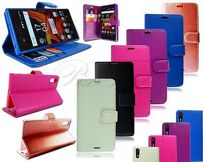 AU7.96 • Buy For Sony Xperia XZ Dual F8332 New Leather Flip Wallet Phone Case + Screen Guard