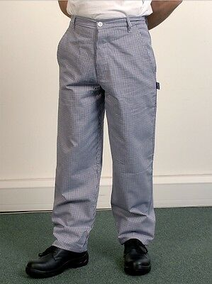 £10 • Buy Bonchef Men's Chef Trousers Blue And White Check