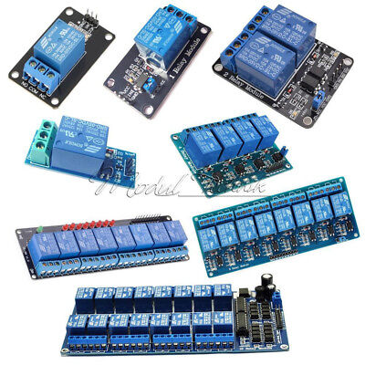 AU2.42 • Buy 5V 1/2/4/8/16 Channel Relay Board Module Optocoupler LED For Arduino PiC ARM AVR