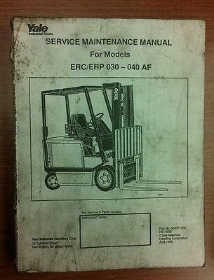 Yale Forklift Manuals
