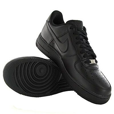 the latest e8cf4 2ed8a Scarpe Nike Air Force 1 (gs) Nere Basse Originali • 76.00€