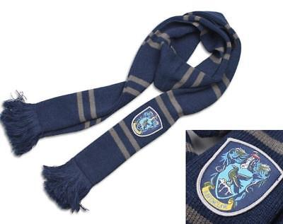 $ CDN15.44 • Buy Harry Potter Ravenclaw Knit Shawl Wrap Winter Scarf Deathly Hallows Costume LS01