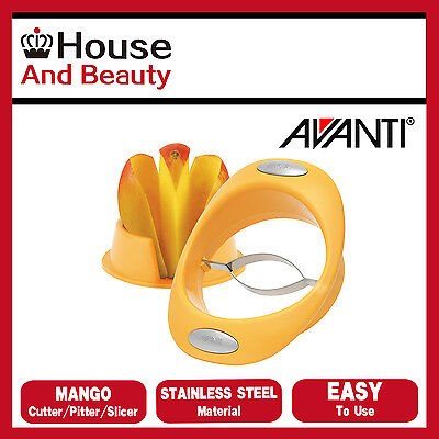 AU17.95 • Buy NEW Avanti Mango Cutter, Pitter, Slicer 12854