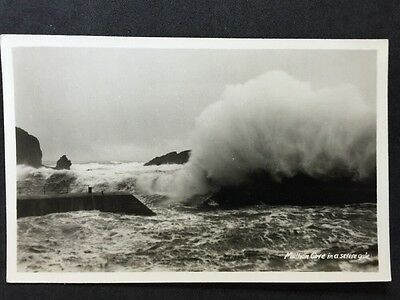 £4.95 • Buy Vintage Postcard - Cornwall #67 - RP Mullion Cove In A Severe Gale - Penpol Card