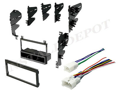 $17.99 • Buy ★ 87-2003 Toyota Complete Radio Stereo Dash Kit With Wire Harness Install CD ★