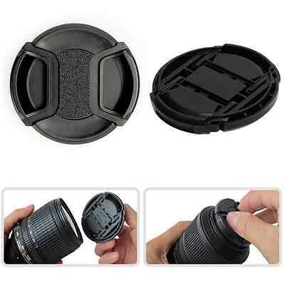 AU2.19 • Buy 49-58MM Camera Clip-on Front Lens Cap Cover For Canon Nikon Sony Pentax Olympus