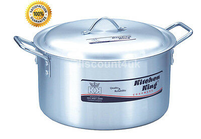 £21.87 • Buy Kitchen King Stock Pots Cooking Boiling Pans Deep Catering Stockpots Casserole