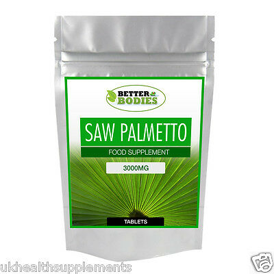 AU26.83 • Buy Saw Palmetto 3000mg HIGH Strength Tablets Available In Range Of Sizes Free