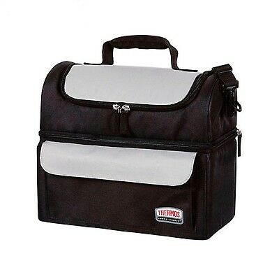 AU36.99 • Buy New THERMOS Soft Lunch Lugger Insulated Dual Compartments Bag Carry Picnic