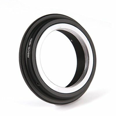 $8.59 • Buy FOTGA Adapter For Leica M39 L39 To Canon EOS M M1 M2 M3 EF-M Mirrorless Camera