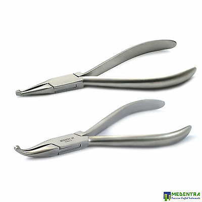 £14.90 • Buy HOW Pliers Orthodontic Set Of 2 Dental Archwires Placement And Removal Lab Piers