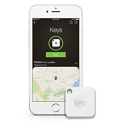 Key Tracker, Phone Finder, Wallet Locator . Bluetooth Tracker - 1-pack Tile Mate • 24.77£