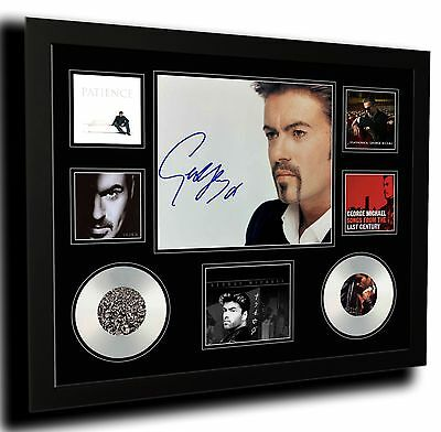 AU88.99 • Buy George Michael Signed Limited Edition Framed Memorabilia