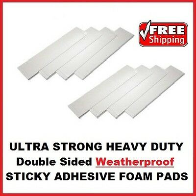 £1.89 • Buy 8x Heavy Duty Double Sided Foam Adhesive Sticky Fixing Pads Indoor Outdoor DIY