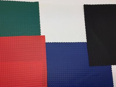 PVC FABRIC Laminated Polyester Reinforced Vinyl 12oz Waterproof Floors Curtains • 6.99£