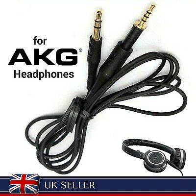 £5.90 • Buy Replacement Audio Cable Wire For AKG® K450 K430 K480 K451 K452 Q460 Headphones