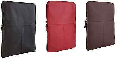 STM Real Leather Sleeve Protective Padded Case Bag Pouch For 11  MacBook Air • 6.99£