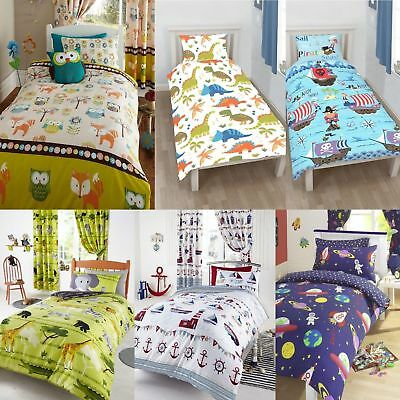 Character Junior Bed, Toddler Bed, Cot Bed Duvet Cover & Pillowcase Sets • 13.49£