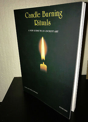 £49.99 • Buy CANDLE BURNING RITUALS -  Finbarr. Occultism. Witchcraft. Occult, Magick