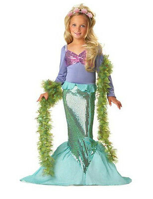 AU8.95 • Buy Girl Disney The Little Mermaid Ariel Costume Dress For Party Size 2-7 Years