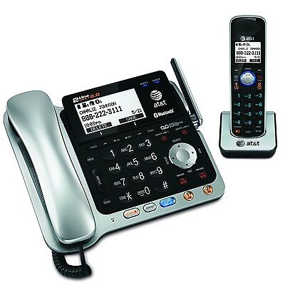 $ CDN201.65 • Buy ATT-TL86109 DECT 6.0 2-line Exp. Corded/cordless Phone ITAD W/BLUETOOTH By AT&T