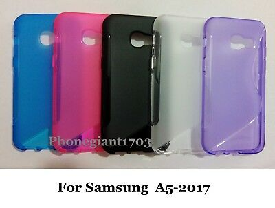 S-line Wave Silicone Gel Back Case Cover For Various Samsung Galaxy Mobile Phone • 3.29£