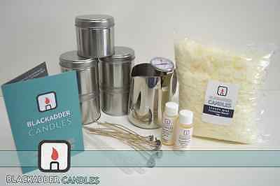 Beginners Large Tin Candle Kit - 100% Soy • 42£